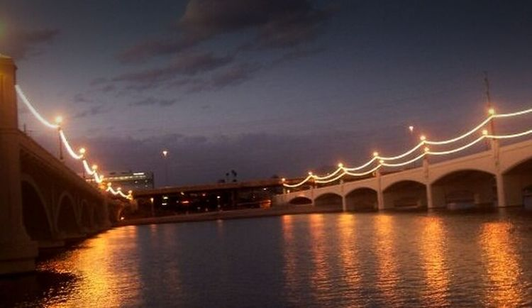 Travel Cityscapes Tempe Town Lake Arizona Learn & Shoot: After Dark