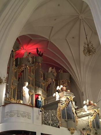 Inside Church Kaliningrad Architecture Baltics2k16