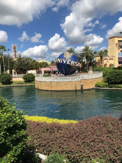 Universal Studios Water Cloud - Sky Plant Tree Architecture Built Structure Sky