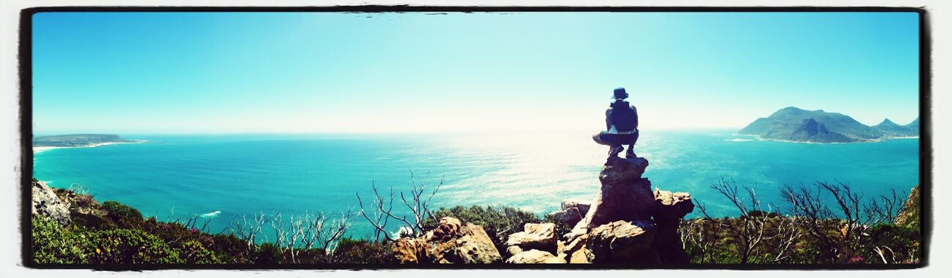 Hiking with my babes up above chapmans from the noordhoek side. Beautiful Day Ocean View Africa