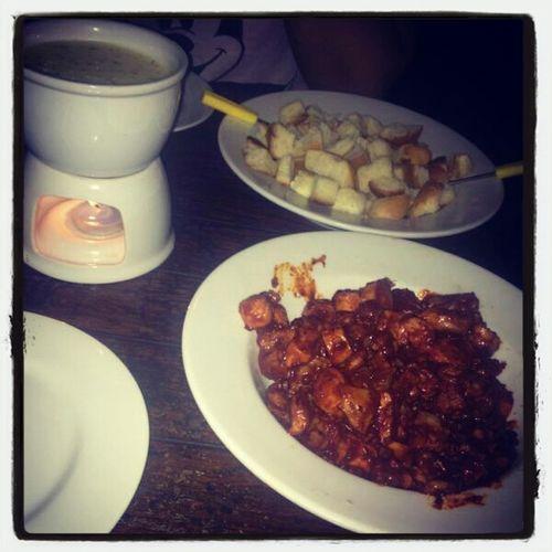 Swiss Food Bacardi Chicken