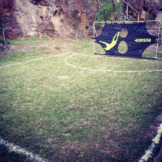Calidad si señor!! De aqui nos sale un pro del Futbol Champion Qualite Porteria felizcumple alan