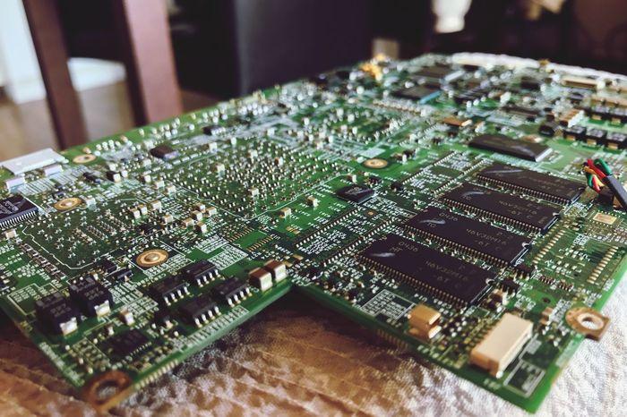 Mac Mother Board Computer Chip Computer Part Apple AppleComputer My husband took his G4 apart today. Urbanfilter