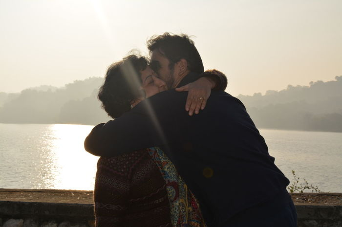 Early Morning Love Mom Mother And Son Motherlove Person Real People Together