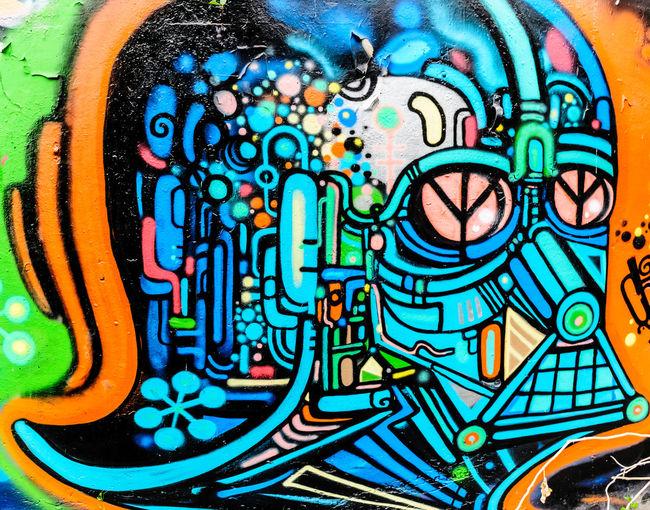 Street art - Drak Vador, Bangkok city, Thailand Art Backgrounds Bangkok Close-up Colorful Creativity DARK VADOR Design Graffiti Multi Colored No People Ornate Painting Pattern Star Wars Street Art Street Art/Graffiti Thailand Street Art On The Walls Street Art/grafitti Street Art Bangkok Graffiti & Streetart Graffiti Bangkok The Street Photographer - 2016 EyeEm Awards