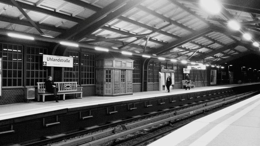 Subway Hamburg Blackandwhite Photography