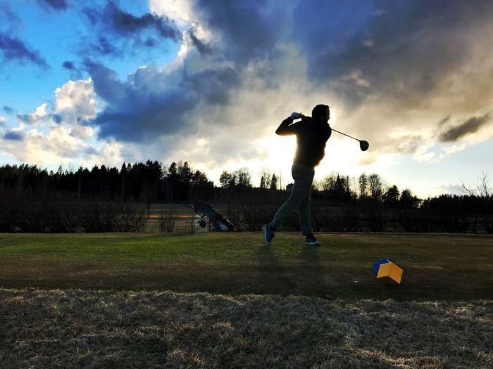 Peuramaa golf Golf Sport Cloud - Sky Golf Swing Golfer Golf Course