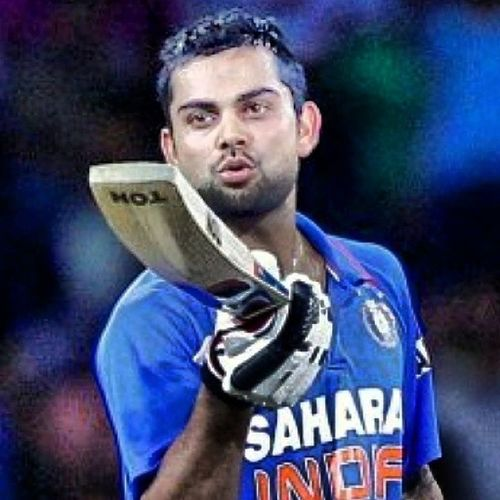 Happy birthday our fav & sunshine cricketer Viratkohli . Good luck your future. GOD BLESSING!! HappyBirthdayViratKohli ViratKohliHappyBirthday !!