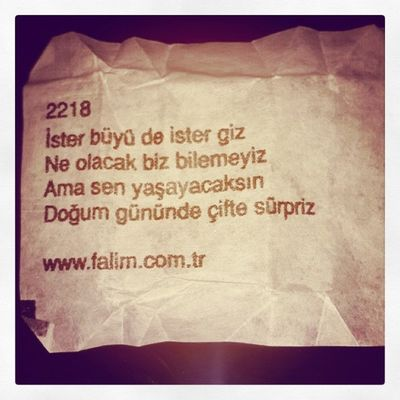 Hadi Bakalim Bakalim Hayirlisi :)