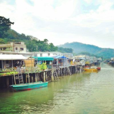 大澳  大嶼山  香港  漁村 TaiO LantauIsland Lantau HongKong HK FishingTown Fishing Town