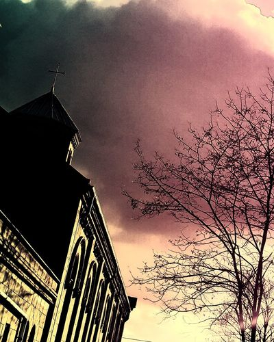 Architecture Sunset Outdoors No People Built Structure Sky Building Exterior