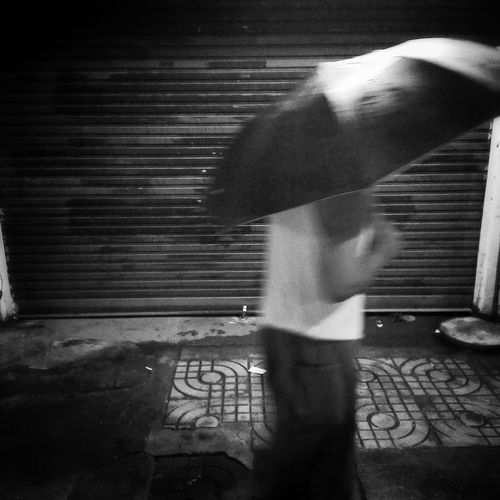 Taking Photos Monochrome Blackandwhite Photography Streetphotography Black & White The Umbrella Man Umbrella