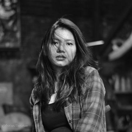 B&W Portrait Nikon Photographer Black And White Portrait Of A Friend