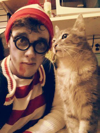Halloween Horrors NYC Where's Waldo? Kitty Cat