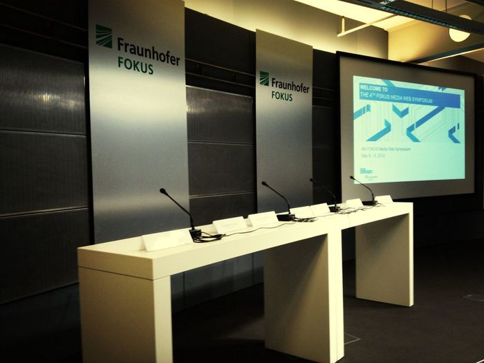 Media Web Symposium at Fraunhofer Fokus - Berlin Web Week rolls on