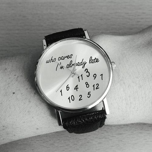 WhoCares Alwayslate Newwatch Watch
