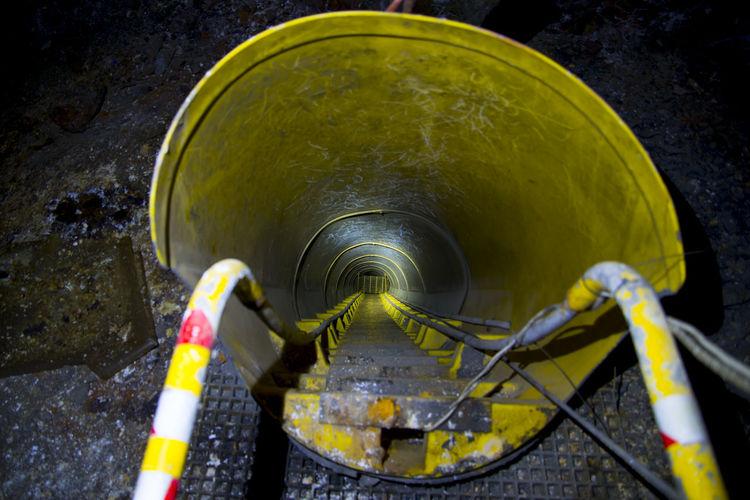 Underground Mine Escapeway Tunnel Mining Mine Underground Tunnel Escapeway