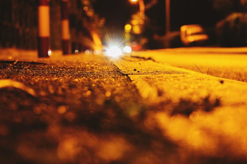 Night Night Lights Nightphotography Asphalt