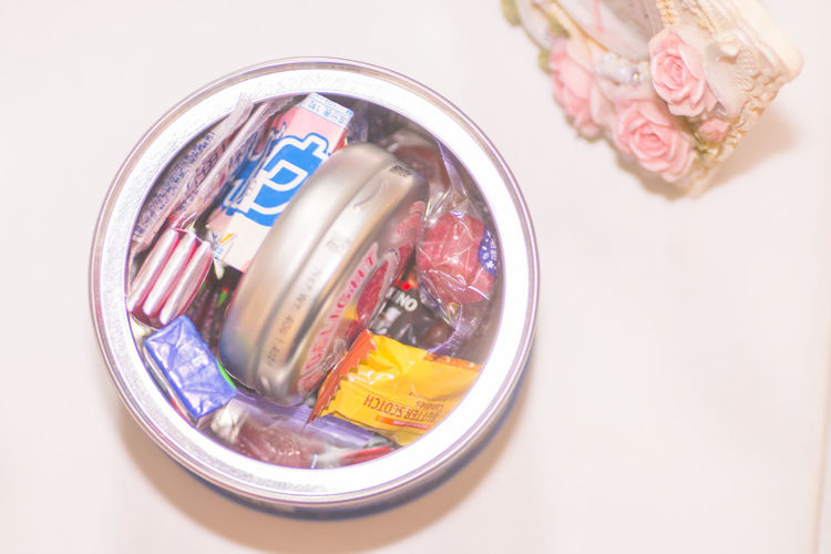 Backgrounds Can Candles Candy Choice Clock Close-up Container Cute Food And Drink Freshness Girly Happy Holiday Desserts Indoors  Onthetable Overhead View Pastel Power Pink Pretty Softness Still Life Sweets Taste Good Variation