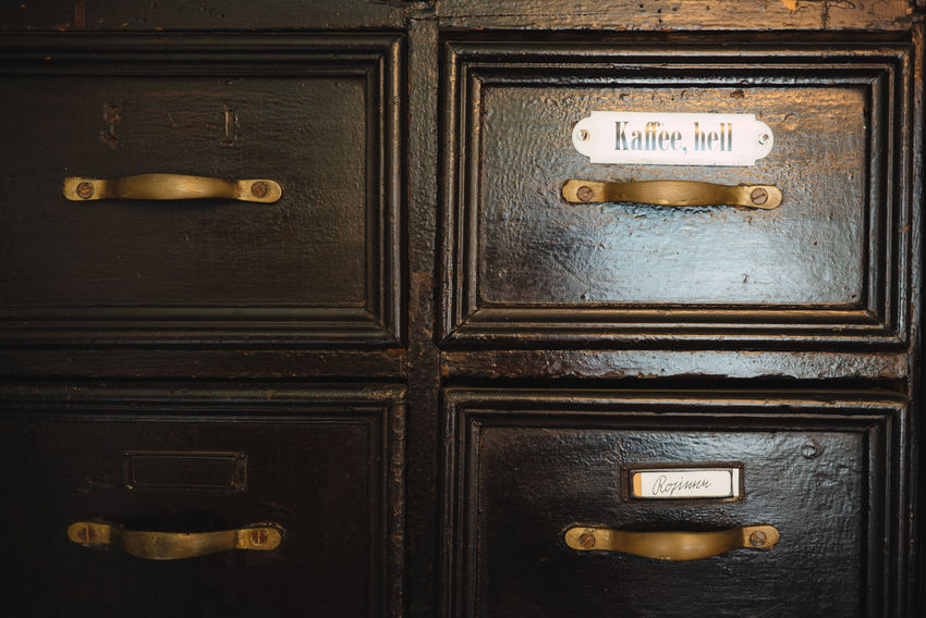 Inside Castle Backgrounds Close-up Closed Communication Correspondence Door Drawer Entrance Full Frame Handle Indoors  Mail Slot Metal Museum No People Protection Safety Security Text Western Script Wood - Material