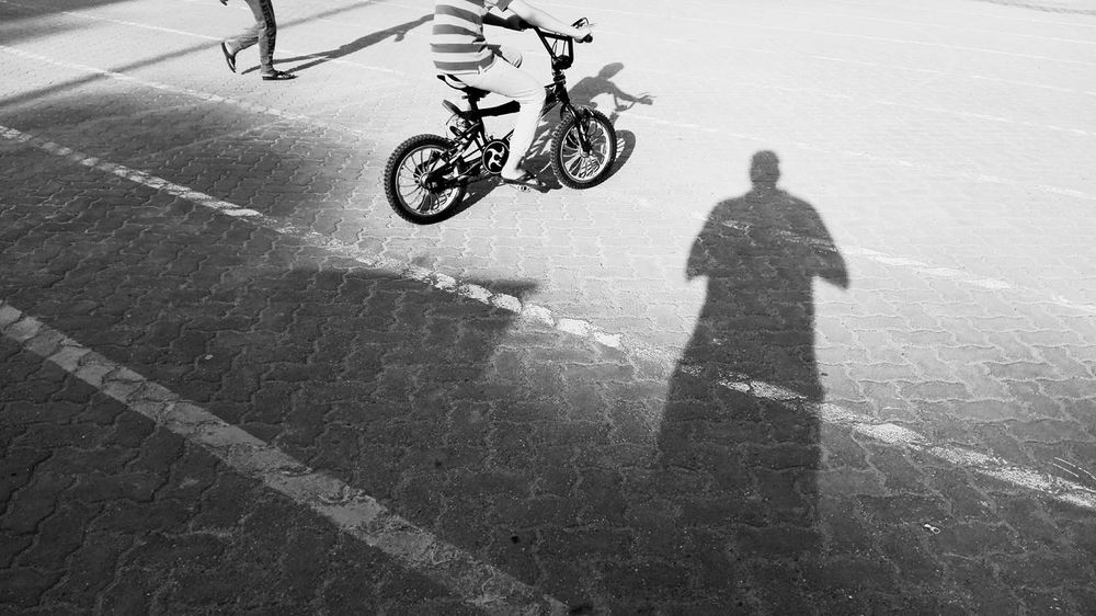 Black And White Friday Bicycle Real People Transportation Riding Day Cycling Mode Of Transport Outdoors Land Vehicle Shadow One Person Men Motorcycle Full Length Stunt People Kids