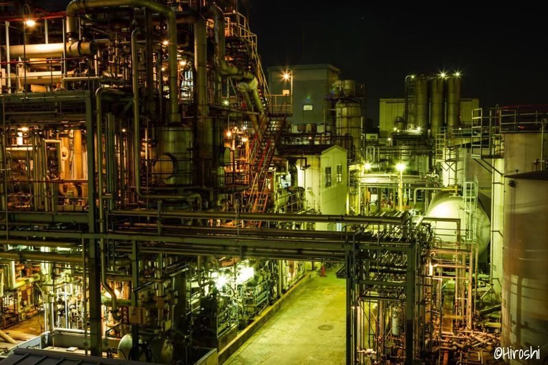The Kawasaki Factory Series 2016 No9 Factory Night Oil Industry Industry Illuminated Fuel And Power Generation Oil Refinery Refinery No People Built Structure Architecture Complexity Petrochemical Plant Outdoors Tadaa Community EyeEm Gallery Nightphotography Kawasaki Japan