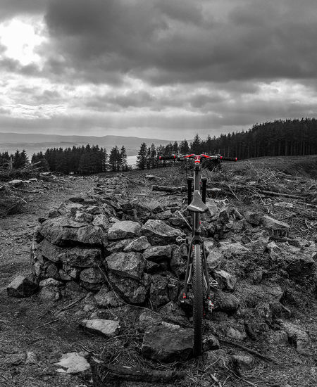 MTB Days MTB Biking MTB MTB ADVENTURE Cycling Water Sky Cloud - Sky Scenics Tranquility Remote Beauty In Nature Mountain Range Countryside Non-urban Scene Rocky Mountains