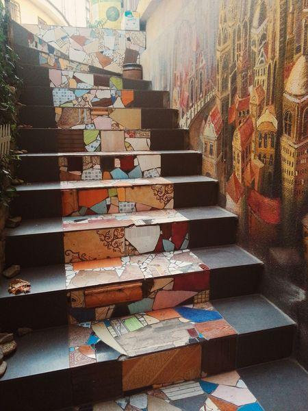 Галерея Гапчинской в Odessa,Ukraine Art Gallery Gapchinska Stairs