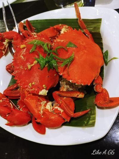 Food Healthy Eating Freshness Ready-to-eat Comfort Food Happy Tummy Crabs Cellphone Photography Lgg6