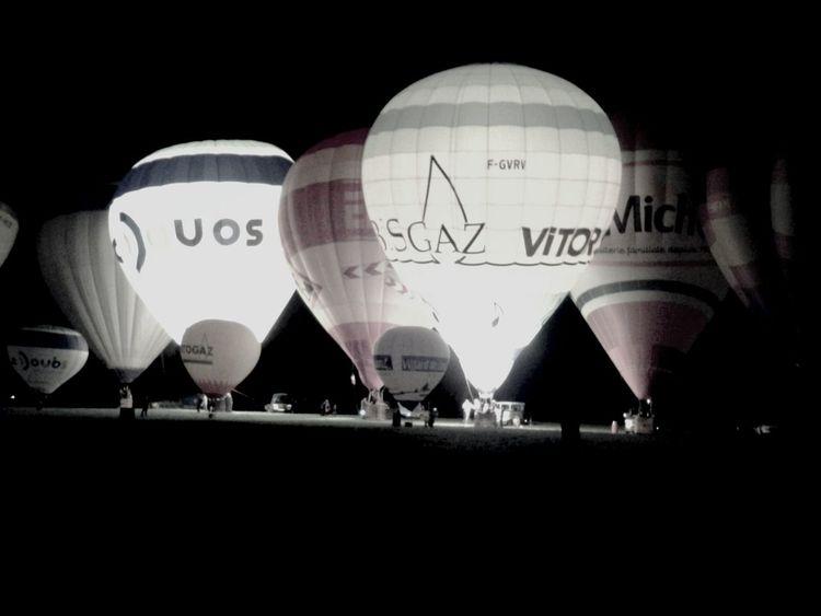 Noir et blanc Blackandwhite Balloon Mongolfière