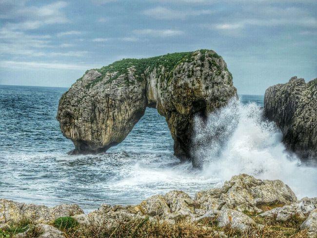 Castru de las Gaviotas en Villahormes , Llanes Asturias Nature HDR Sky And Sea Eyem Asturias Sea_collection Sky Collection