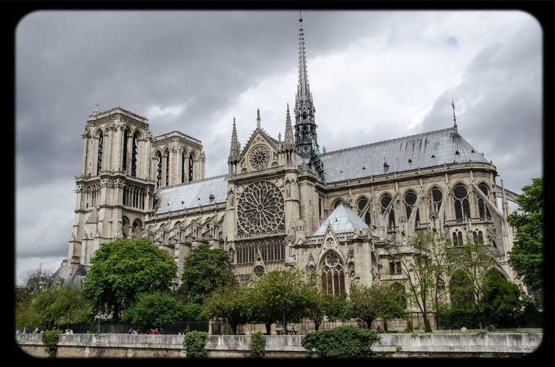 #paris #turist #notredame #church