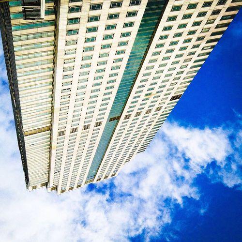 Trade Center Office Building Skyscraper paradox view of skyscraper Eyeemphoto