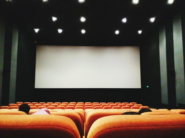 Bioscope Seat seat Projection Screen Indoors  Arts Culture And Entertainment Chair No People Auditorium Togetherness Film Industry Welcome To Black