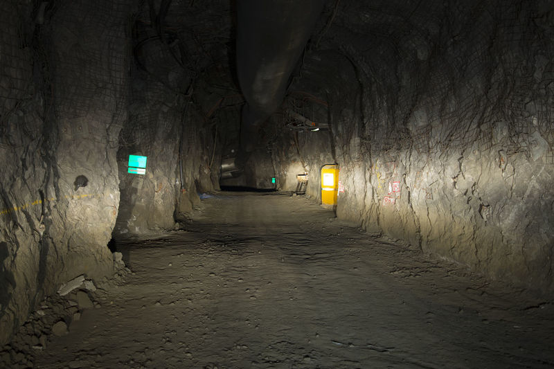 Underground Mining Tunnel Mining Mine Underground Deep Gold