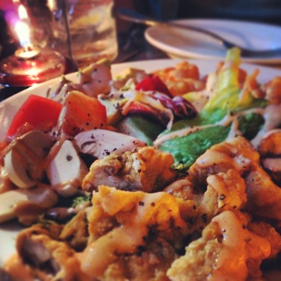 chicken-cob salad