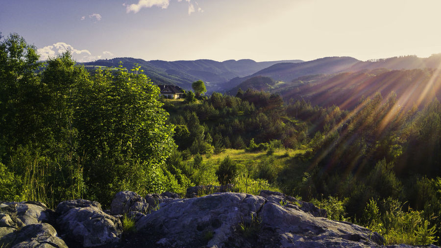 Scenic View Of Kremnica Mountains