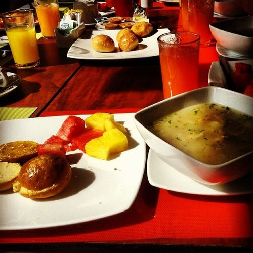 Primera parte del desayunito :p