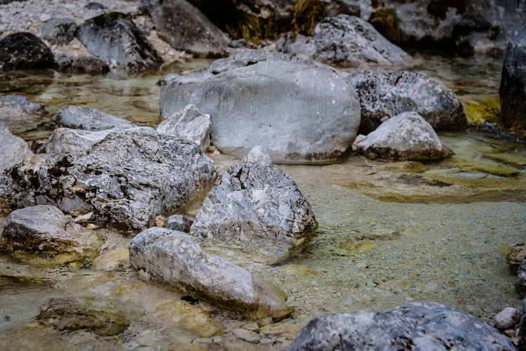 Erve Erve Miozzo Photo Miozzo Outdoors Stone Rock Formation Beauty In Nature Tranquility Nature No People Rough Flowing Water Stream - Flowing Water Day Land Rock Solid Geology Rock - Object Water Textured  Sea Flowing Shallow