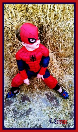 Halloween Holiday Kids Real People Cute People Photography Spideenan