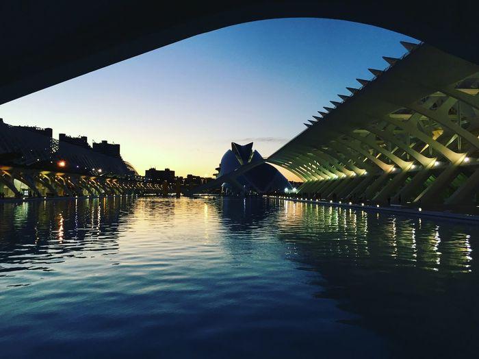 Amazing View Architecture Calatrava Outdoors Science City Sky València