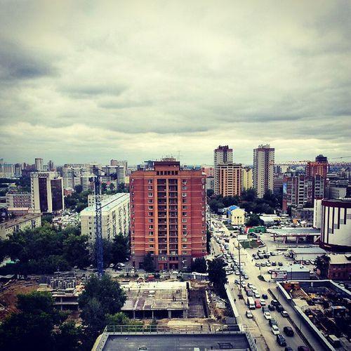 Новосибирск с высоты 15-го этажа. Новосибирск Нск архитектура Traveling