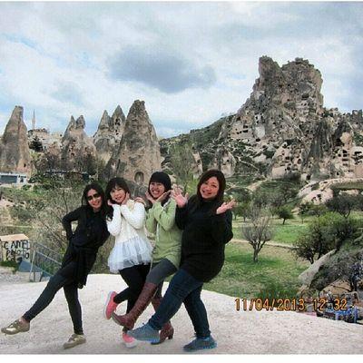 20130411 Cappadocia Turkey ExoticCity Exotic Girls Pose