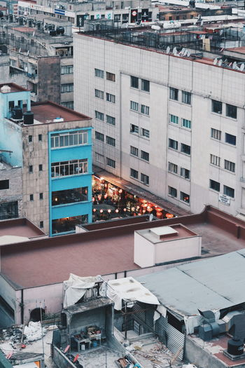 Chinatown in Mexico City. Architecture Building Exterior City Built Structure Cityscape High Angle View Outdoors Residential Building Day No People Skyscraper Urban Skyline Sky Mobility In Mega Cities Go Higher