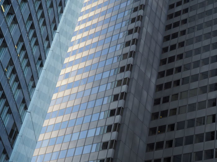 Architecture Building Exterior Built Structure City Day Financial District  Full Frame Lines And Angles Lines And Shapes Low Angle View Modern No People Outdoors Sky Skyscraper The Architect - 2017 EyeEm Awards Window