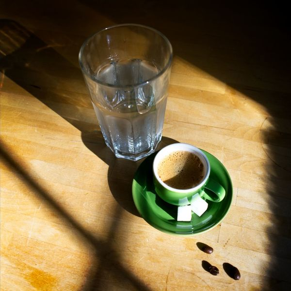 India Messo Forte Close-up Coffee - Drink Coffee Cup Day Drink Drinking Glass Food Food And Drink Freshness High Angle View Indoors  No People Refreshment Shadow Table