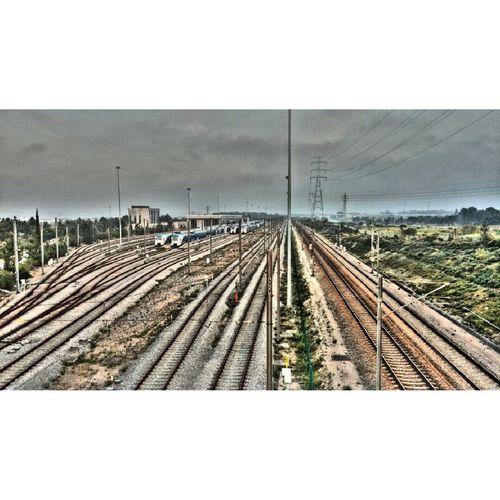 Rail Tracks Railway Trains Railway Tracks At Railway Bridge