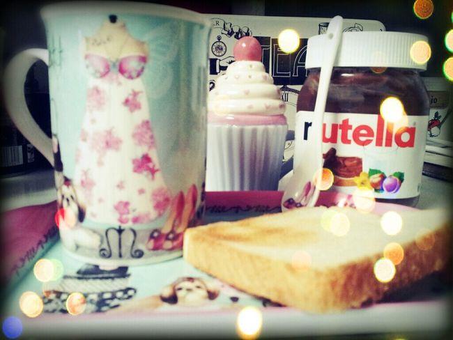 my breakfast !!! mmm yami!!!