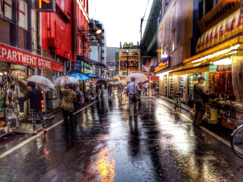 Rain City Large Group Of People Outdoors People Travel Japan Tokyo Umbrella Umbrellas EyeEmNewHere Best EyeEm Shot Tokyo,Japan Rainy City Rainy Weather