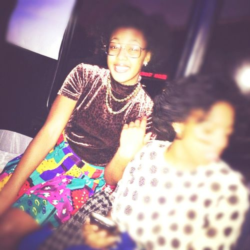 last night at my sisters sweet 16